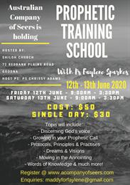 Prophetic Training School