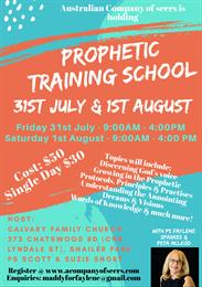 Prophetic Training School - Refund