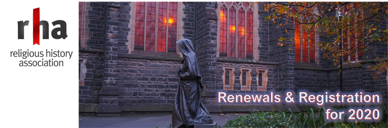 RHA Member Renewals & Registrations 2020 - WELCOME