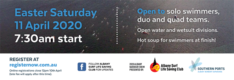 Albany Harbour Swim 2020