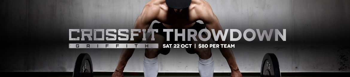 Crossfit Griffith Throwdown VC Inspired