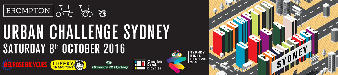 Brompton Urban Challenge - Sydney