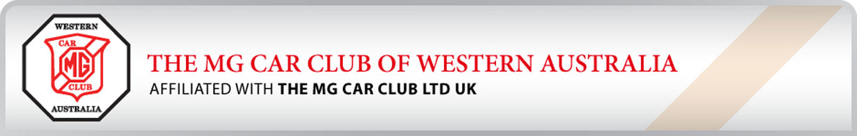 MG Car Club of WA Membership Application 2020