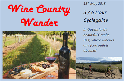Wine Country Wander Cyclegaine