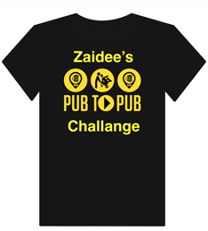 Zaidee's Pub2Pub Wheelbarrow Challenge