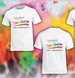 Zaidee's Rainbow Powder Stomp Geelong