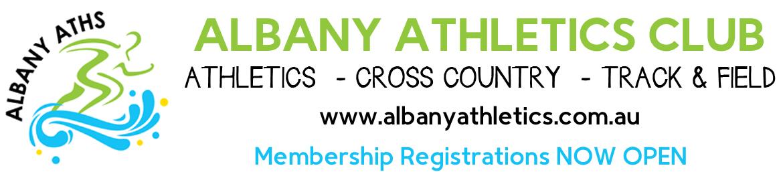 2019/2020 Albany Athletics Club Membership