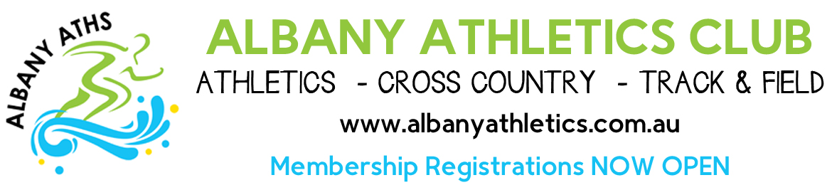 2019/2020 Albany Athletics Club Membership