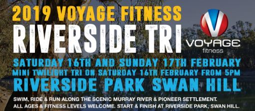 2019 Voyage Fitness Riverside Tri & Fun Run/Bike