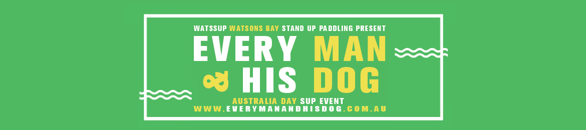 Every Man & His Dog AUS Day SUP 2019