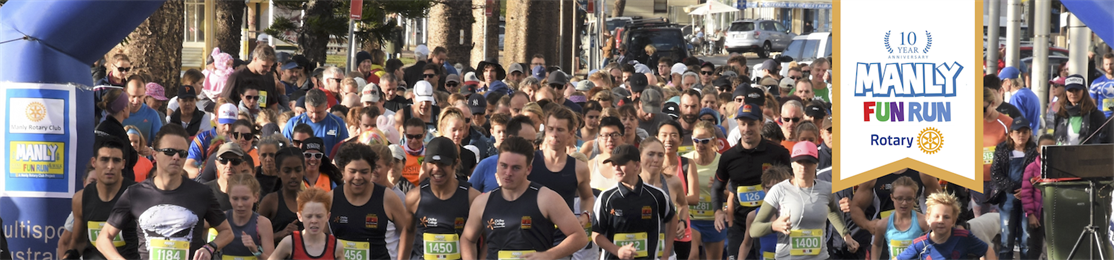 2019 Manly Fun Run