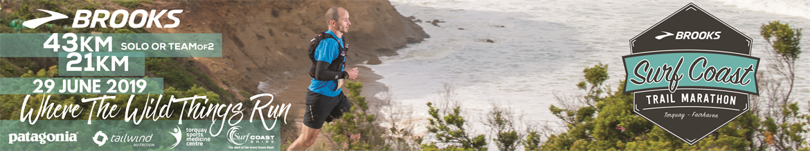 Surf Coast Trail Marathon 2019