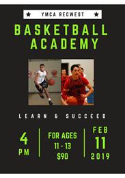 Term 2 YMCA Basketball Academy