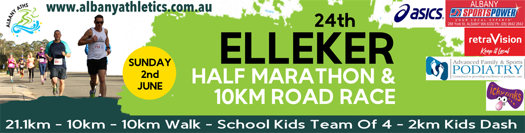 24th Elleker Half Marathon & 10km Road Race