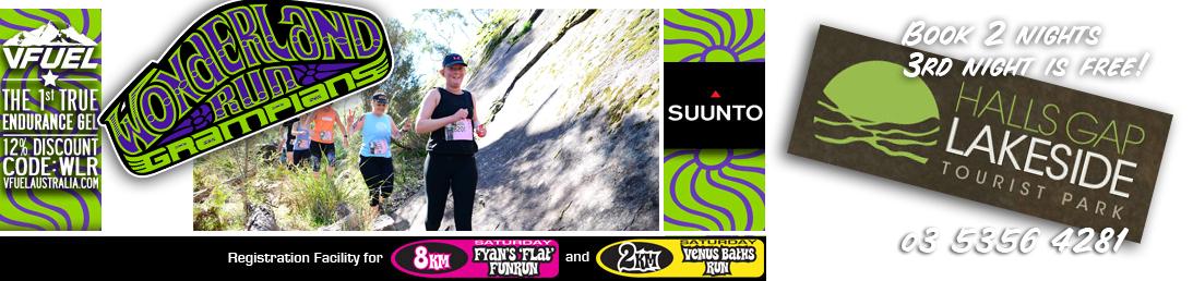 Wonderland Run Saturday 8km & 2km 2019