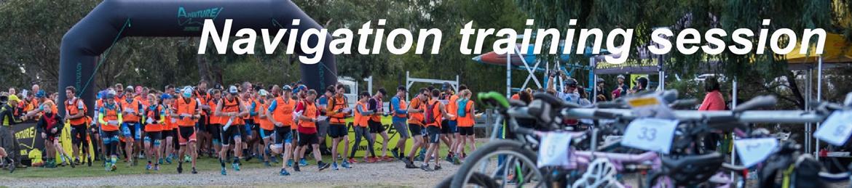 Navigation training for Sprint Series Race
