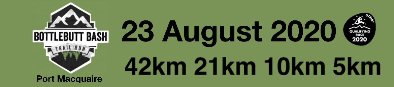 Bottlebutt Bash Trail Run 2021