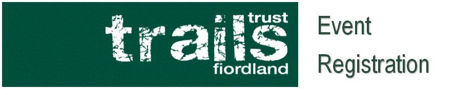 Fiordland Trails Trust Event