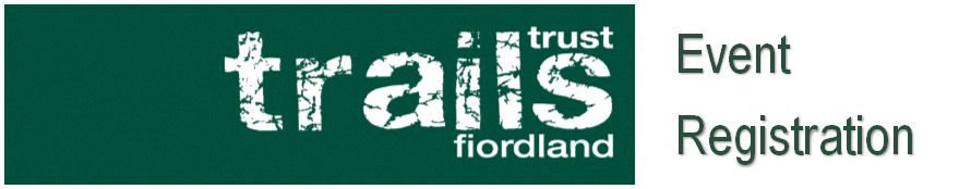 Fiordland Trails Trust Event