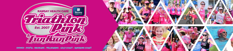 Triathlon Pink and Fun Run Pink 2019/20