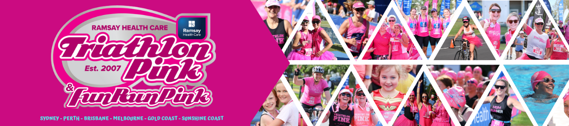 Triathlon Pink and Fun Run Pink 2019/20