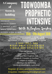 Toowoomba Prophetic Intensive