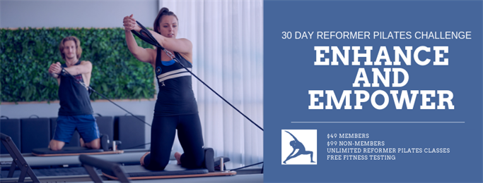 30 Day Reformer Pilates Challenge