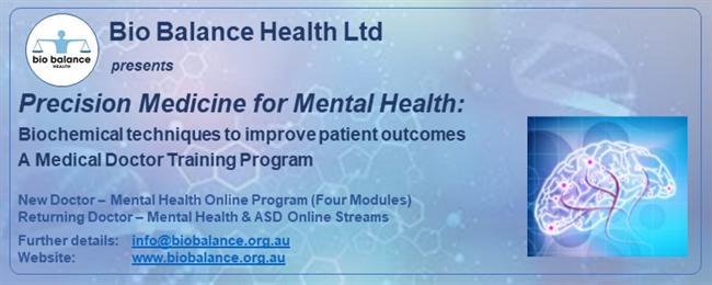 2020 Bio Balance Health Doctor Training