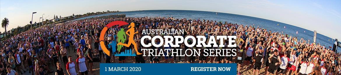 2020 Australian Corporate Triathlon Melbourne