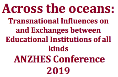 ANZHES CONFERENCE 2019