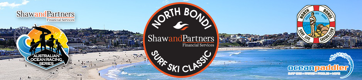 Shaw & Partners North Bondi Surf Ski Classic 2019