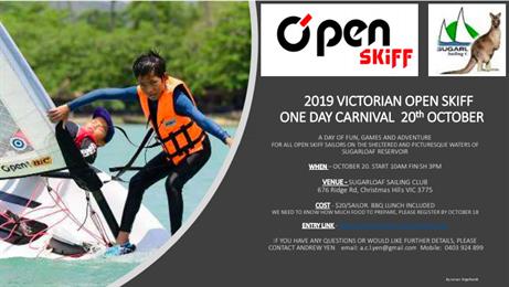 2019 VIC O'pen Skiff Carnival