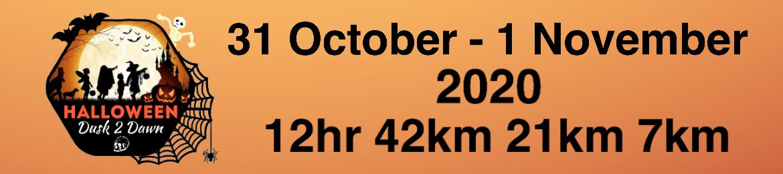 Halloween Dusk 2 Dawn Trail Run 2020