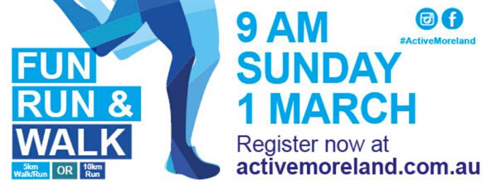 2020 Active Moreland Fun Run and Walk