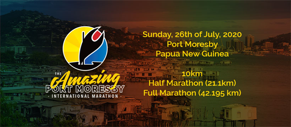 The Inaugural Amazing Port Moresby Marathon
