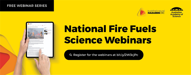 National Fire Fuels Science Webinar
