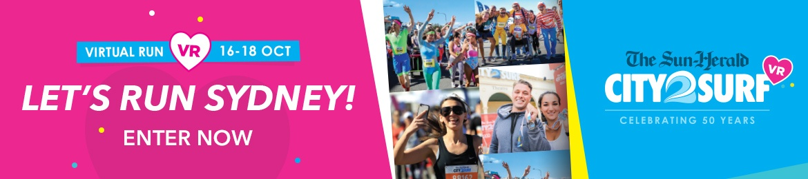 2020 City2Surf Virtual Run